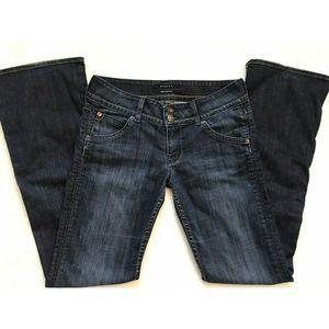Hudson Signature Bootcut Flap Pocket Jeans